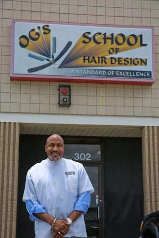 Kevin Lane, Owner of OGs School of Hair Design