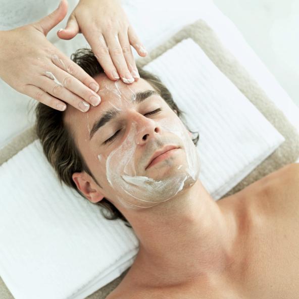 How to do a Facial for a Man
